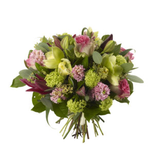 Orchid and Hyacinth Bouquet