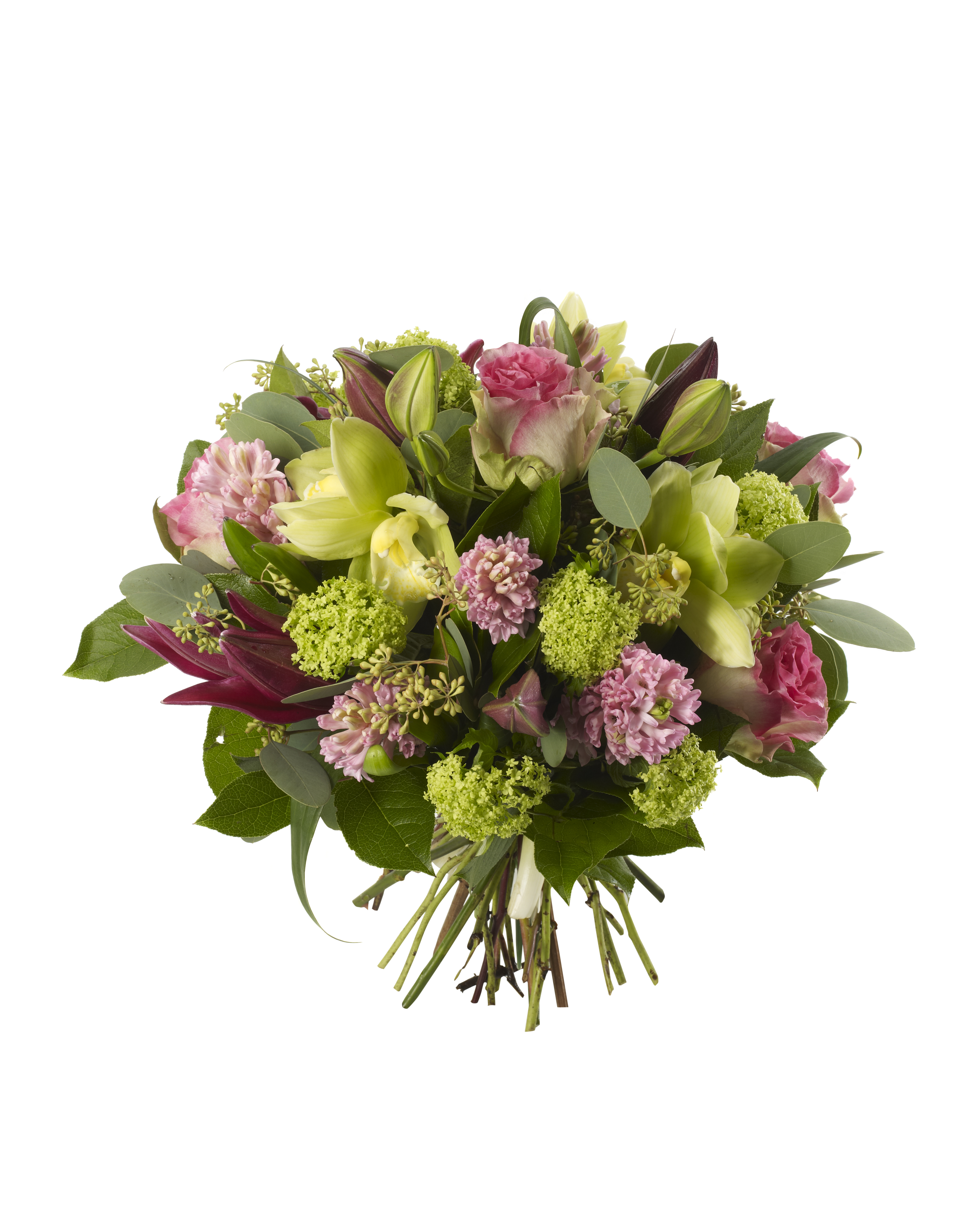 Orchid and hyacinth bouquet ultraviolet london flowers orchid and hyacinth bouquet izmirmasajfo