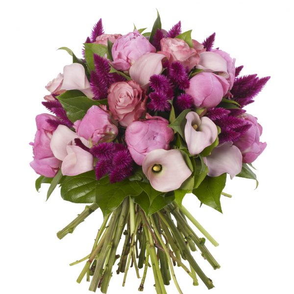 Soft Pink and Rapsberry Bouquet